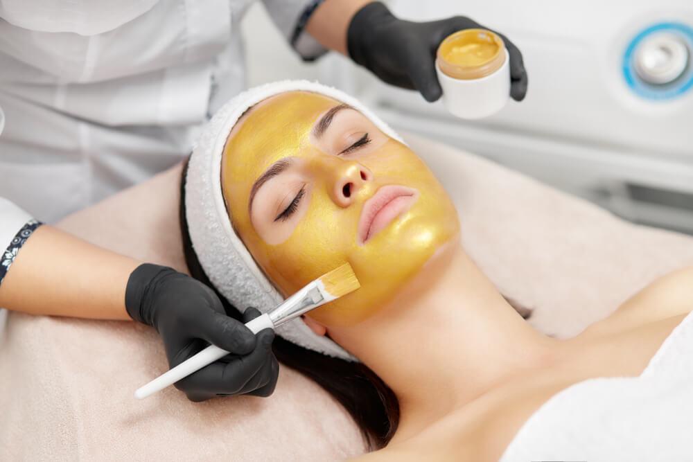 gold facial tretman